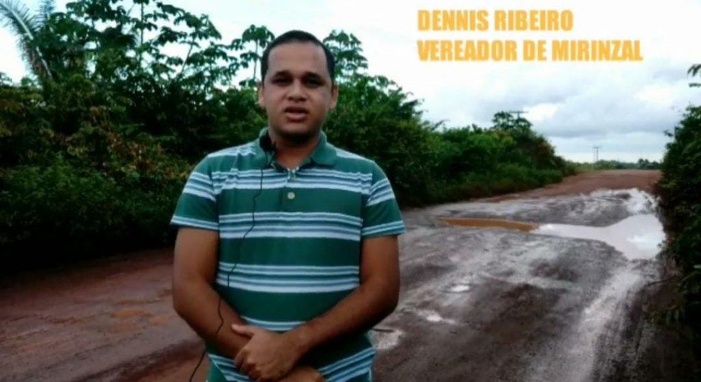 Vereador denuncia descaso de Flávio Dino com a MA-006