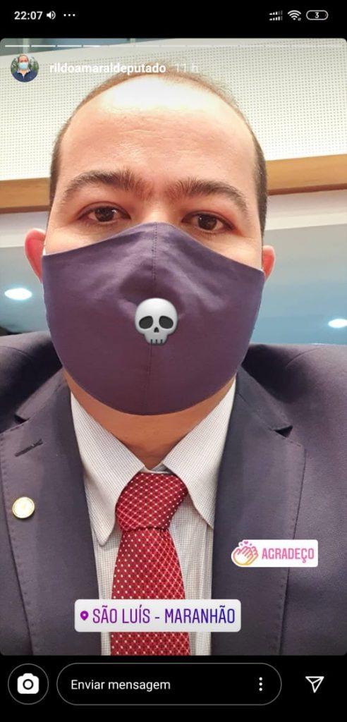 Rildo Amaral espanta seguidores do Insta com mensagem subliminar