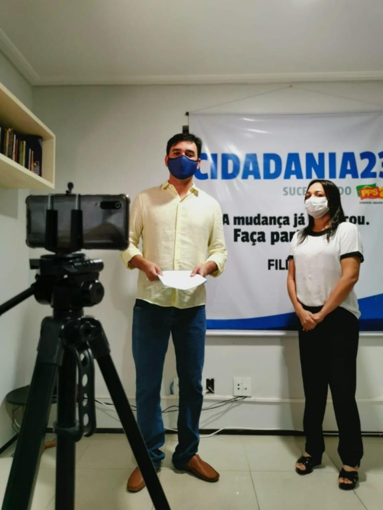 ELEIÇÕES 2020 – Cidadania vai Rubens Jr. em São Luís