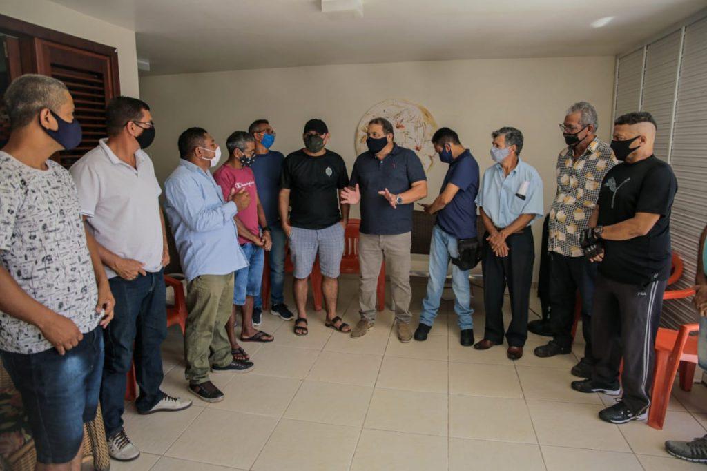 Jota Pinto discute principais demandas dos moradores de Ribamar em encontros com pré-candidatos