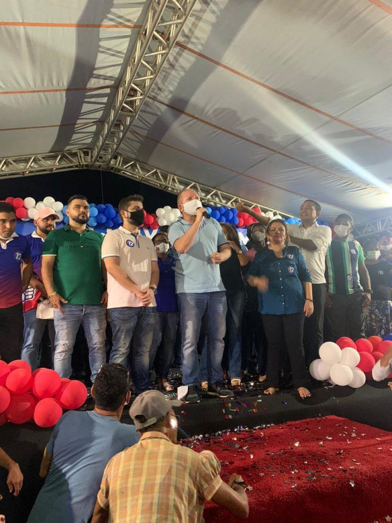 Othelino participa de convenções em diversos municípios para reafirmar apoio a candidatos de seu grupo político