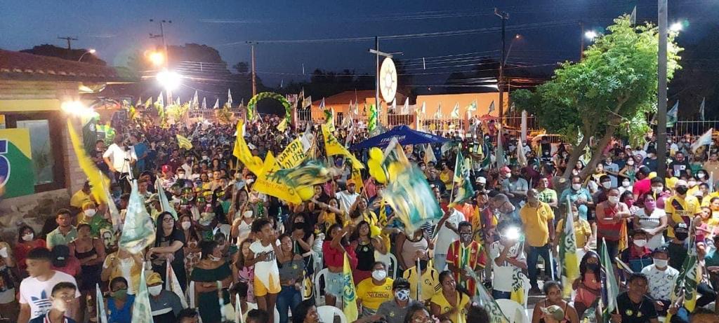 RAPOSA – Convenção de Ocileia Fernandes mostra mais uma vez seu potencial político; veja