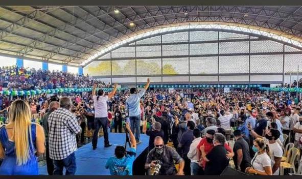 CAXIAS – Convenção de 'Cabeludo' deixa a de 'Gafanhoto' no chinelo; veja