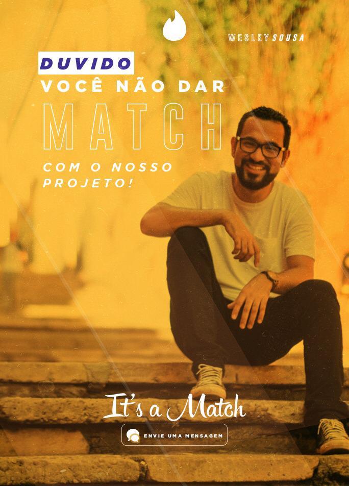 Deu macth! Pré-candidato a vereador de São Luís utiliza Tinder para conquistar apoiadores