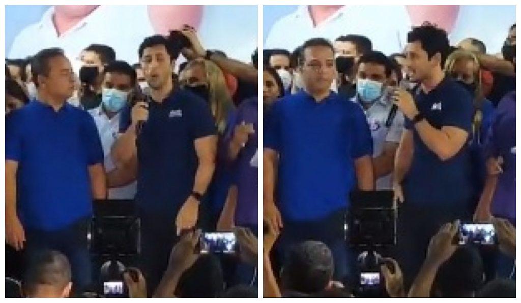 PAÇO DO LUMIAR – Faltando 1 dia para o segundo turno em SLZ, Fred Campos não retribuiu 'gesto' de Duarte Jr.