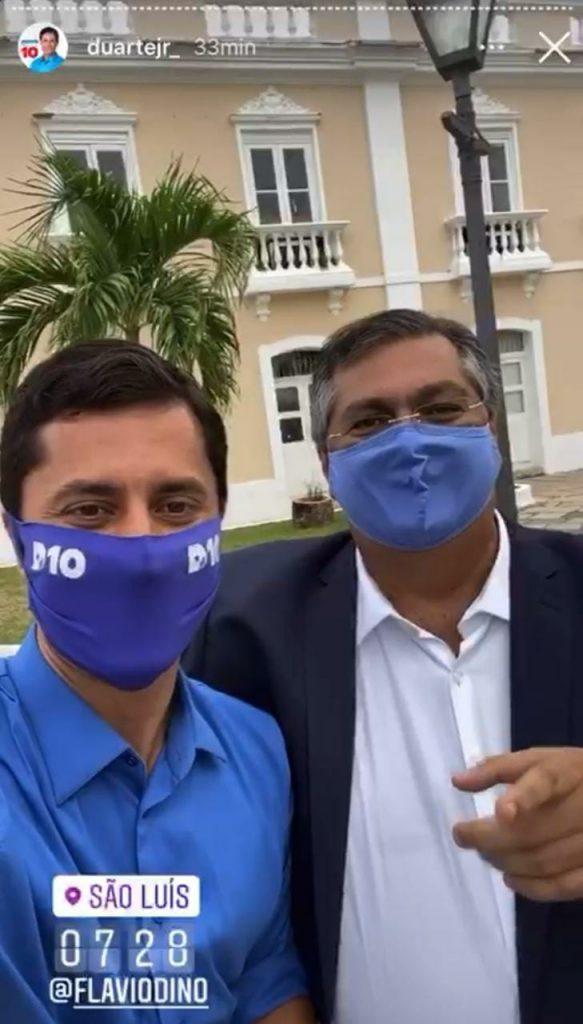 Desavenças pessoais e disputa pelo governo do estado em 2022 racham base de Dino em SLZ, que sairá pequeno das eleições com vitória de Braide