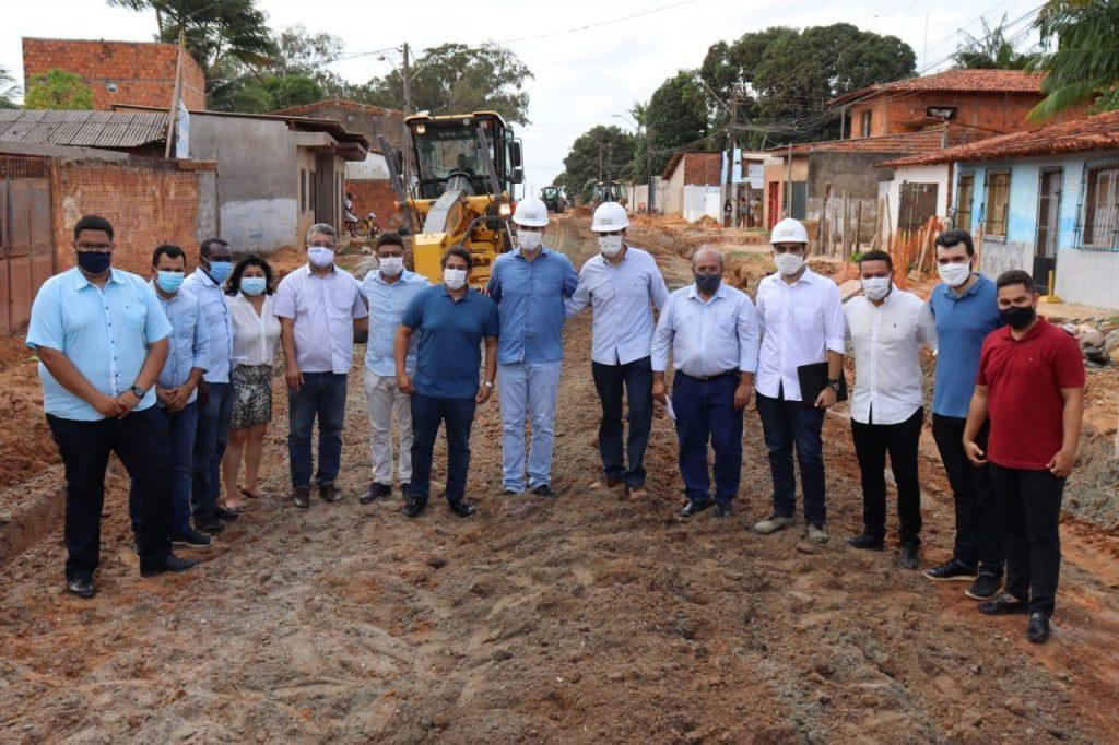 Vereadores e prefeito vistoriam obras na Zona Rural de São Luís
