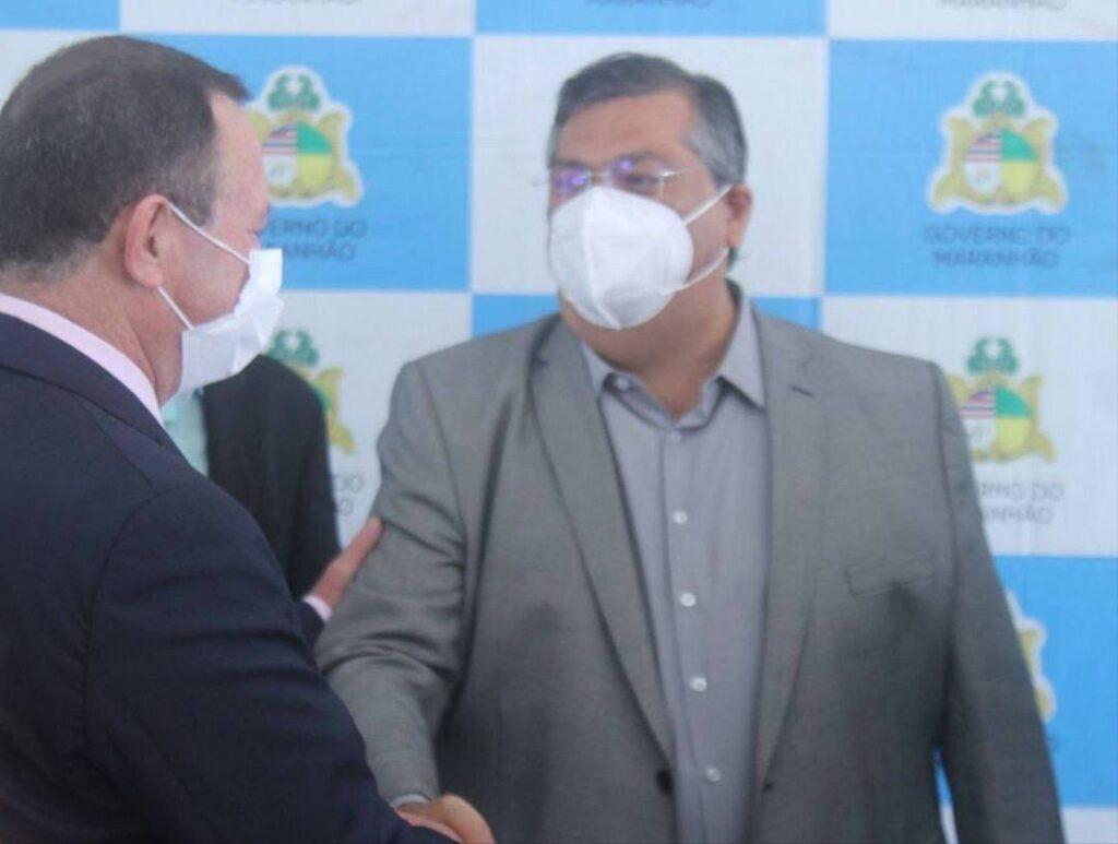 'Relação política e pessoal muito antiga', declara Dino em site nacional ao preferir Brandão como seu sucessor
