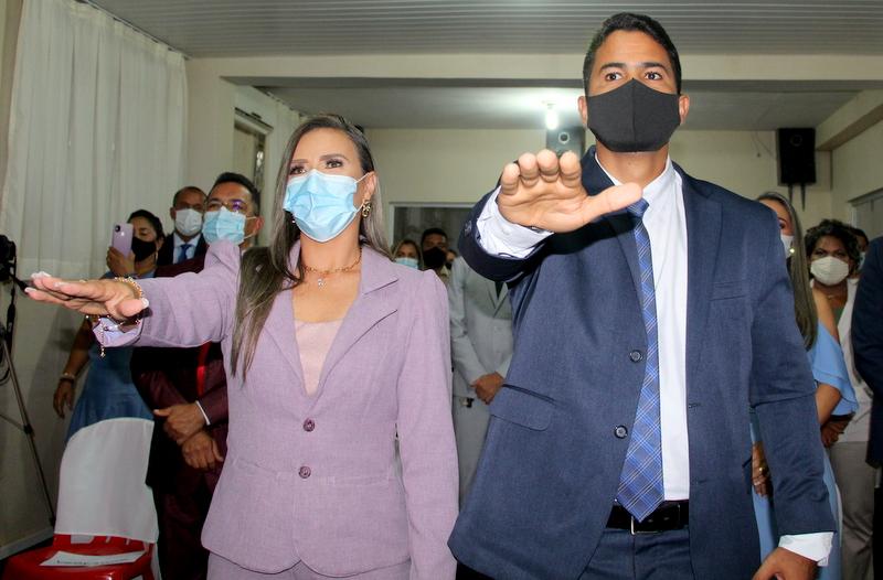 Rosário: conforme antecipado pelo blog, começa a guerra Judicial entre Calvet Filho e Cláudia Anceles