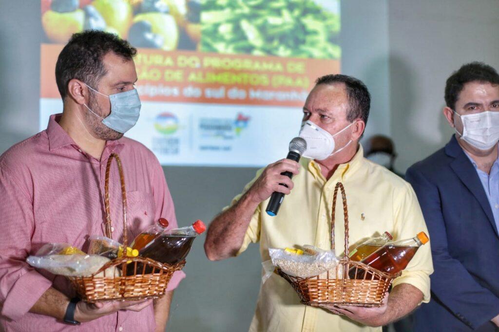 Em Balsas, Carlos Brandão comanda ação em prol de agricultores do sul maranhense