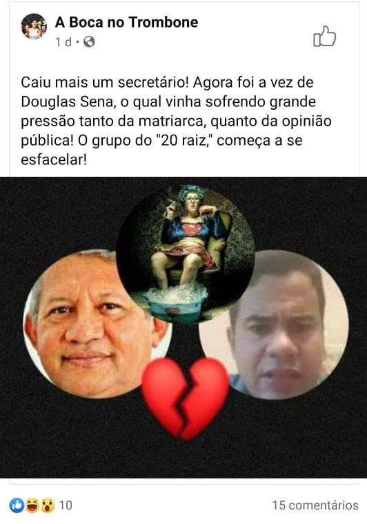 Rosário: Calvet Filho faz Douglas Sena de gato e sapato