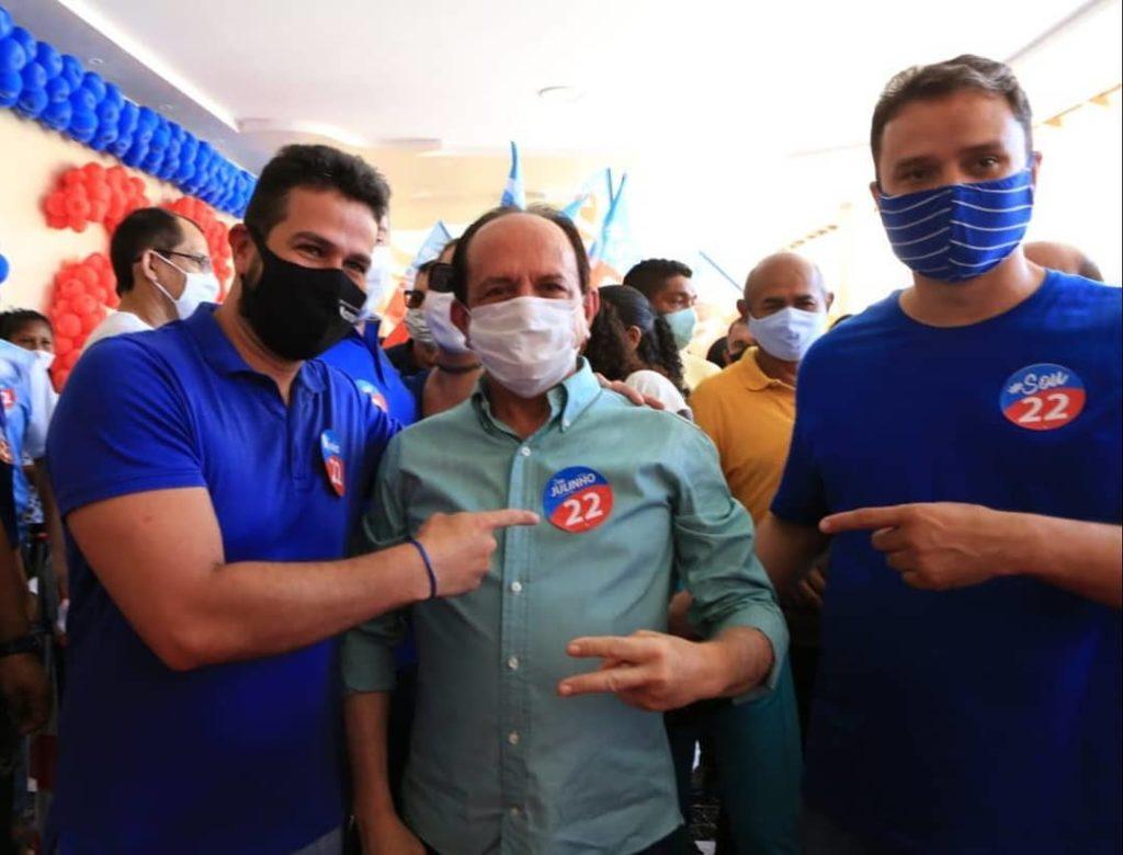Ribamar: após crise, Cutrim reata e consegue espaço na gestão Dr. Julinho