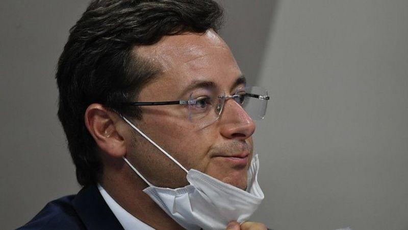 Renan Calheiros pede prisão de Wajngarten por mentir na CPI da Pandemia; mote foi sabotagem deliberada de Bolsonaro à campanha da SECOM
