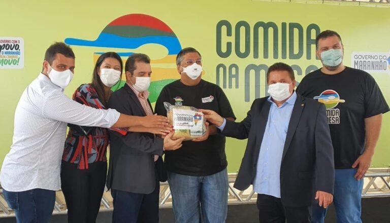 Santa Rita e Bacabeira recebem 2.110 cestas básicas do governo