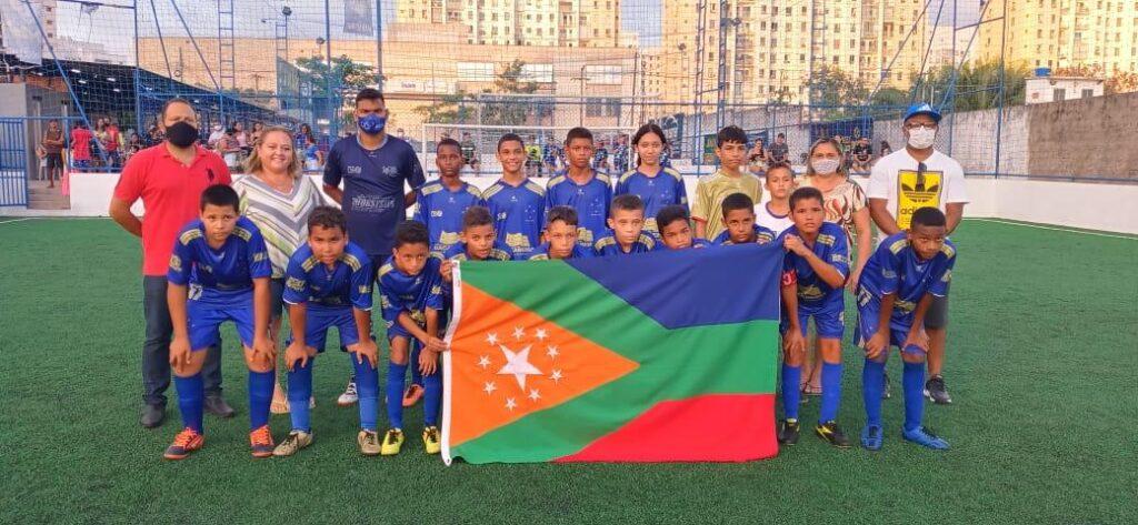 Escolinha de futebol da prefeitura de Bacabeira é destaque em competição da federação maranhense de Fut7