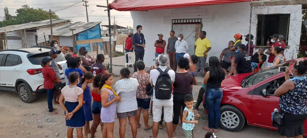 Paço do Lumiar: Residencial Eugênio Pereira recebe comitiva do Estado para tratar demandas do bairro